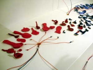 Installation detail - spoons 2